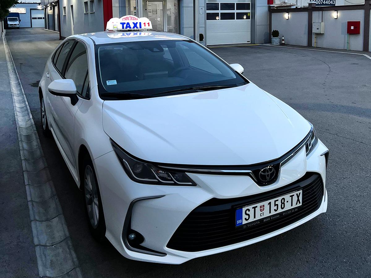 Auto taxi, Stara Pazova